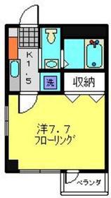 武蔵溝ノ口駅 徒歩28分2階Fの間取り画像