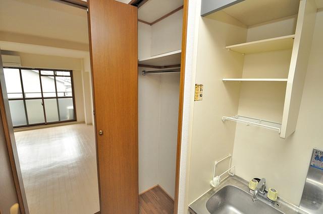 サイレストSB もちろん収納スペースも確保。おかげでお部屋の中がスッキリ。