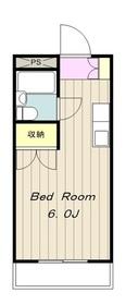 鶴川駅 バス13分「街道口」徒歩2分2階Fの間取り画像