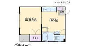 プラザ室見3階Fの間取り画像