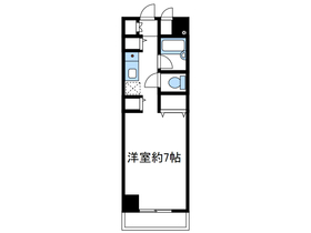 エル2階Fの間取り画像