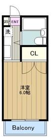 BDesign3階Fの間取り画像