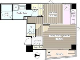 シエルトゥールロジュマン4階Fの間取り画像