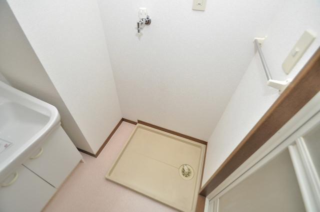 プリムローズHY1 室内に洗濯機置き場があれば雨の日でも安心ですね。