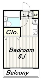メゾンファミール3階Fの間取り画像