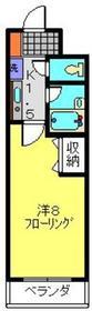 第2シバタハウス3階Fの間取り画像