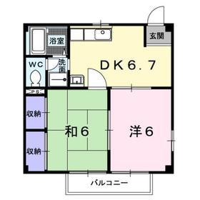 桜ヶ丘駅 バス19分「落合」徒歩13分1階Fの間取り画像