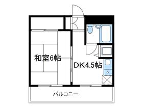 カーサふじみ野5階Fの間取り画像