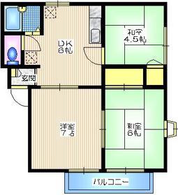 湘南HOZUMI3階Fの間取り画像