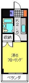 ハイツ井上2階Fの間取り画像