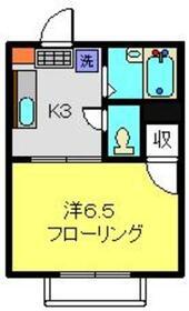 シェルコート飯倉弐番館2階Fの間取り画像