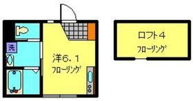 ベリッシマ2階Fの間取り画像