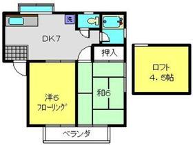 洋光台駅 徒歩25分2階Fの間取り画像