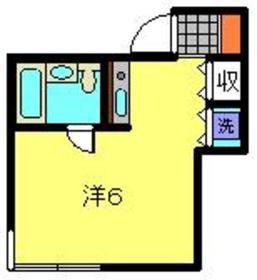 LIBERTY881階Fの間取り画像