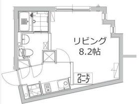 アレーロ江戸川橋2階Fの間取り画像