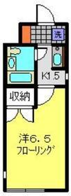 白楽駅 徒歩15分1階Fの間取り画像