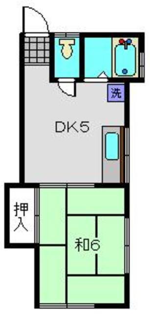 堀井アパート間取図