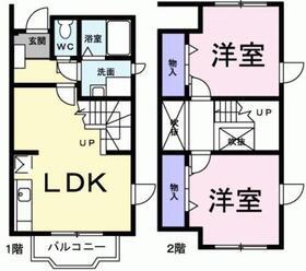 サンハイム21階Fの間取り画像