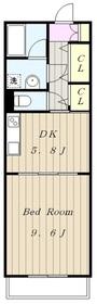 中野島駅 徒歩10分1階Fの間取り画像