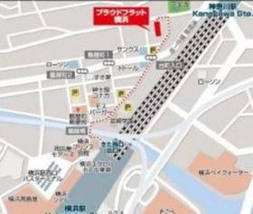 プラウドフラット横浜案内図