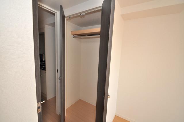 CASSIA高井田SouthCourt もちろん収納スペースも確保。いたれりつくせりのお部屋です。