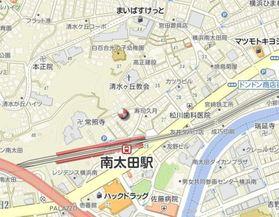 南太田ハイツ案内図