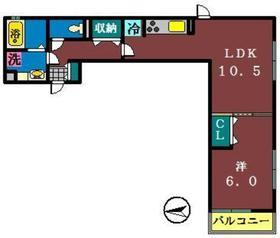 エミナーレ1階Fの間取り画像