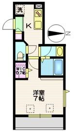 NewSafole武蔵新城2階Fの間取り画像