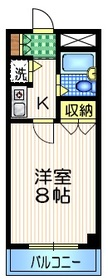 経堂駅 徒歩15分1階Fの間取り画像