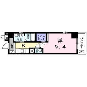 メゾン・ド・ラフレシール1階Fの間取り画像