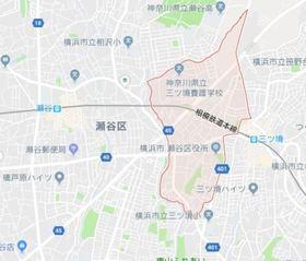 三ツ境駅 徒歩10分案内図