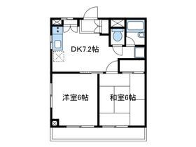 ルミネス三田1階Fの間取り画像