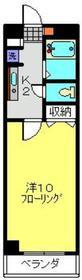 武蔵中原駅 徒歩12分5階Fの間取り画像