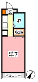 セキホウ倉敷1階Fの間取り画像