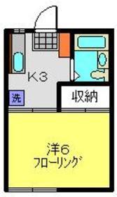 元住吉駅 徒歩27分2階Fの間取り画像