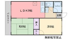 姪浜駅 徒歩7分1階Fの間取り画像