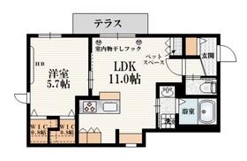 新大塚駅 徒歩9分1階Fの間取り画像
