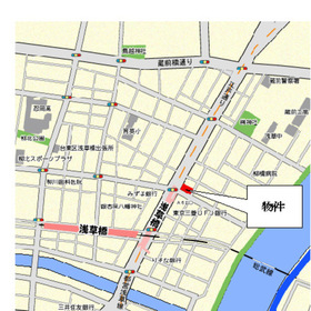 パークアクシス浅草橋案内図