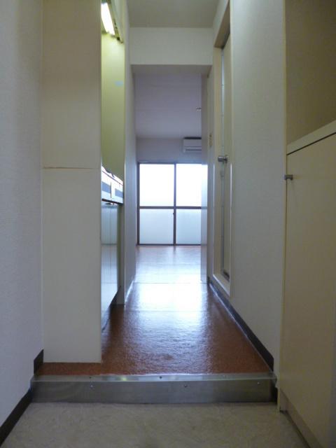 スカイコート落合玄関
