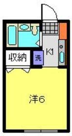 コンポーズ2階Fの間取り画像