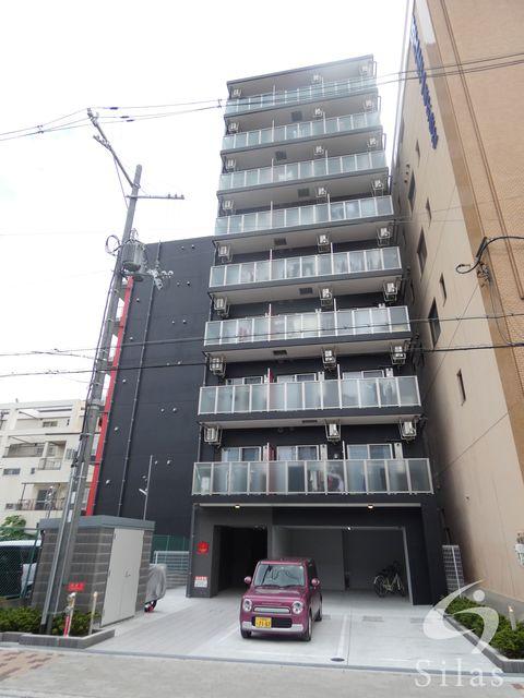 大阪市生野区新今里2丁目の賃貸マンションの外観
