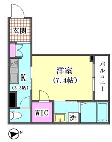 仲六郷2丁目シャーメゾン 203号室