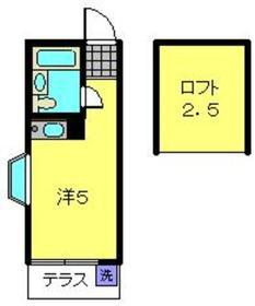星川駅 徒歩20分1階Fの間取り画像