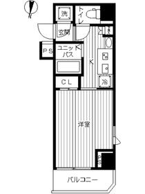 スカイコート武蔵新田3階Fの間取り画像