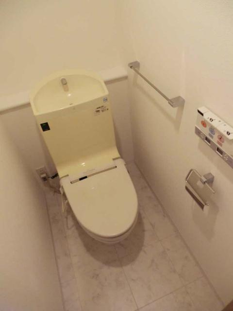 新宿駅 徒歩7分トイレ