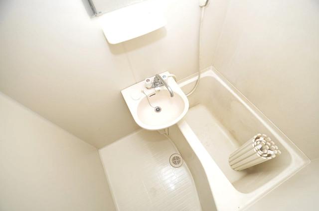 雅ハイツⅡ ちょうどいいサイズのお風呂です。お掃除も楽にできますよ。