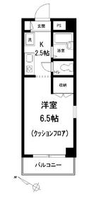 ネオスペース角田2階Fの間取り画像