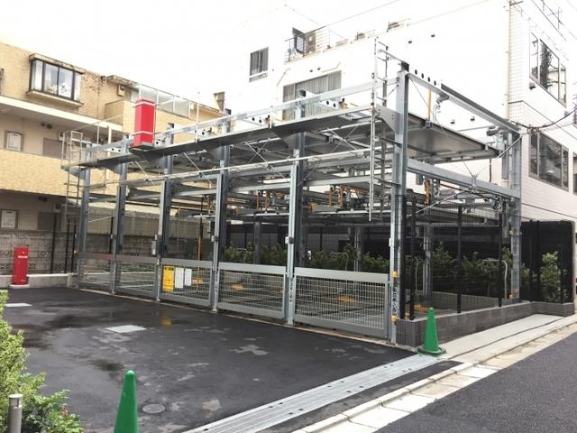 ザ・パークハビオ目黒駐車場