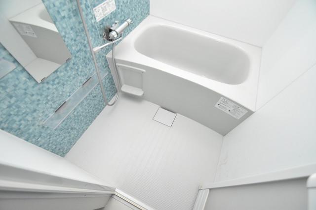 グランパシフィック長瀬スクエア ちょうどいいサイズのお風呂です。お掃除も楽にできますよ。