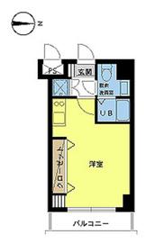 スカイコート両国壱番館7階Fの間取り画像